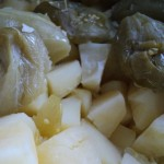 Shpejtë, lehtë dhe në mënyrë tradicionale: pure nga patatet dhe domate jeshile