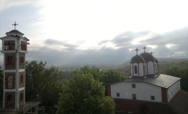 Macedonian monastery - Violeta Spasovska Karatosh
