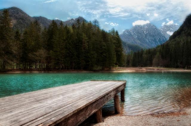 Mountain lake - Boris Janev