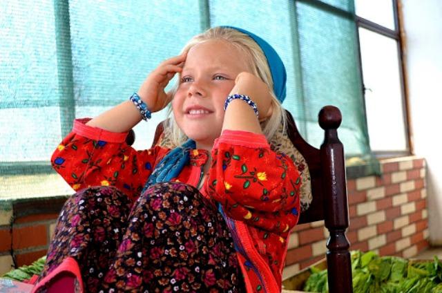 Beautiful girl from Juruks village Husamettin Gina
