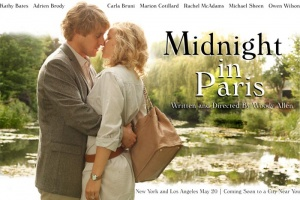"Three stars for ""Midnght in Paris"""