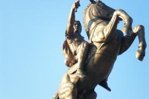 Skopje, monument of Alexander the Great