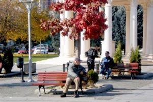 skopje, last days of autumn