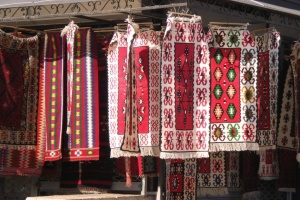 traditional folk ornaments, skopje, old bazaar