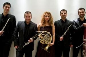 "Performance of ""Ankara wind quintet"""
