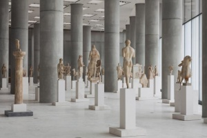 Virtual tour round the most famous Greek museums