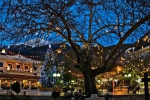 Wintertime holiday season a la Greek