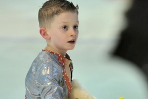 Young Seldo from Macedonia a big ice-skating champion in Italy