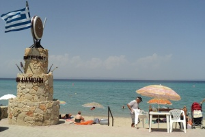 Holiday in Greece – villas instead of white little houses, off-road vehicles instead of donkeys