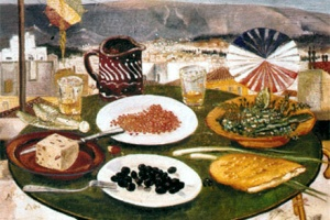 TWO MEZES FROM THE GREEK LENT TABLE