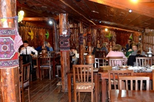"Balkon3 in Bursa: Photo Gallery of ethno restaurant ""Mavi Boncuk"""