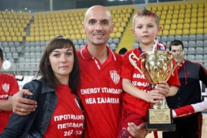 We put Nea Salamina back to the top of volleyball world