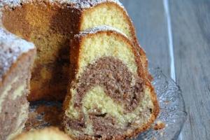 Festive Kuglof cake