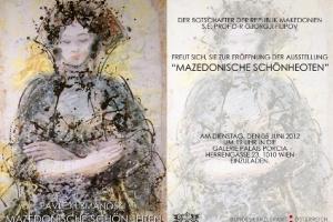 """Macedonian beauties"" in Palais Porcia in Vienna"