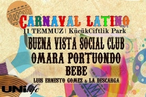 """Carnaval Latino"" for the first time in Turkey"