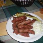 "kebab in ""Rio"", skopje, old bazaar"