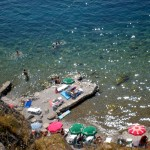 lake ohrid, kaneo beach
