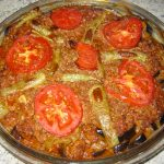 My mother's Aubergine Moussaka