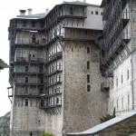 simonopetra – the establishment of the present monastery, 1368 is credited to the Serbian prince Jovan Ugljesha