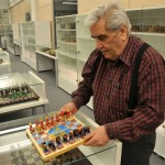 Turkish businessman holds the world record in number of chess sets