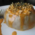 Stuffed onions from Azerbaijan