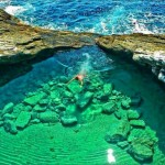 Giola lagoon – one of world's most beautiful natural pools