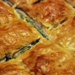 Spring picnic menu – spinach pie
