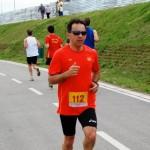 Postman who ran 220 kilometres