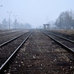 Lonely train station