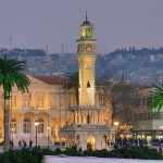 Tourists Attractions in the City Izmir, Turkey