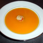 CARROT CREAM SOUP – FROM BRITAIN AND INDIA VIA GREECE!