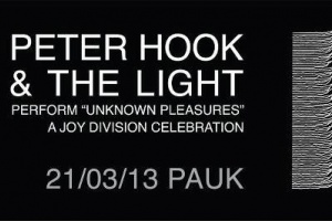 UNKNOWN PLEASURES – A JOY DIVISION CELEBRATION FROM PETER HOOK