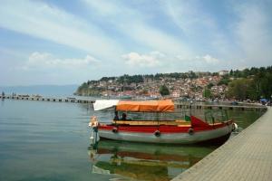 Охрид, мај, езеро и рибја чорба
