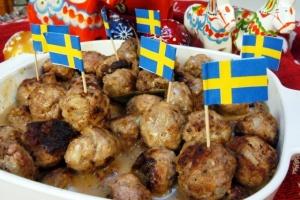Традиционални шведски ќофтиња