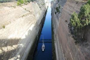 Коринтскиот Канал слави 120 години постоење