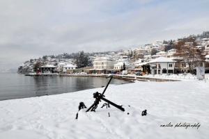 Охрид каков што ретко го гледаме – прекрасен и зиме