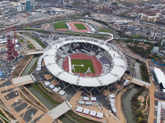 Олимпискиот стадион во Лондон