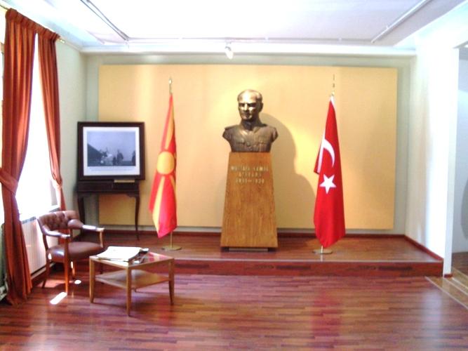 Биста на Ататурк