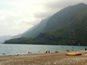 Плажа под вечните планини на Чирали