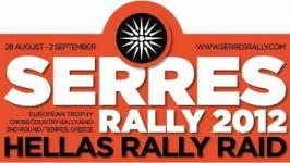 na grcki plakatot za seres rally