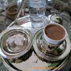 Lokum i kafe