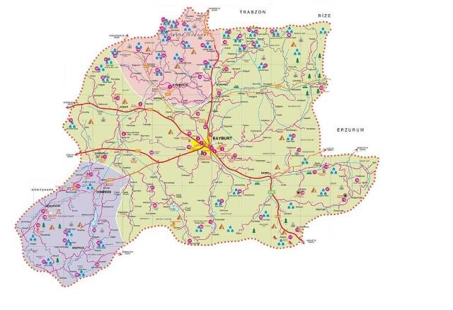 bayburt harita