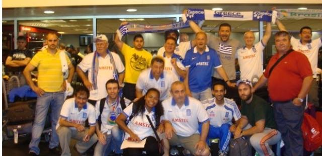Грчки навивачи во Рио