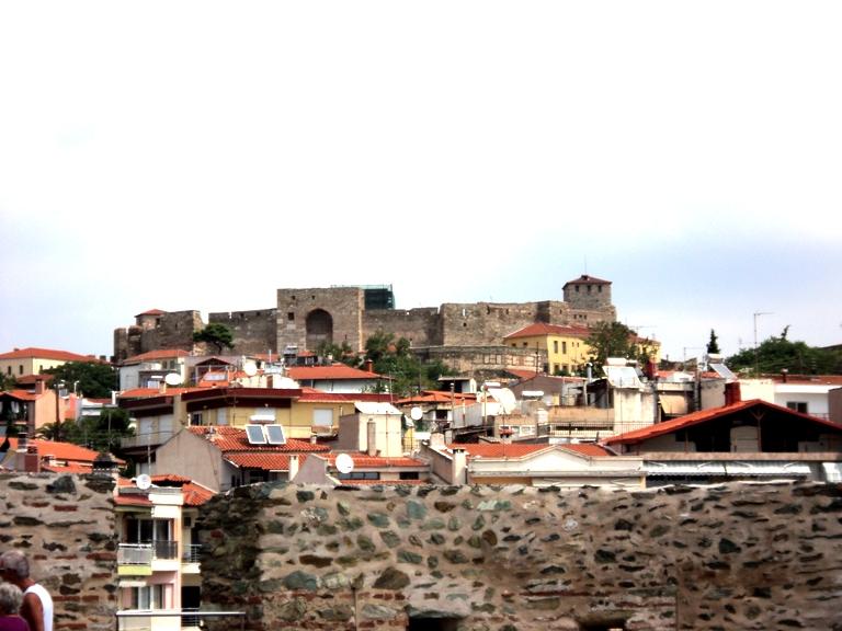 поглед од соседниот византиски замок