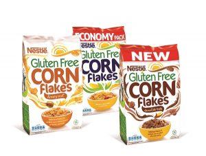 Nestlé Corn Flakes bez gluten - asortiman