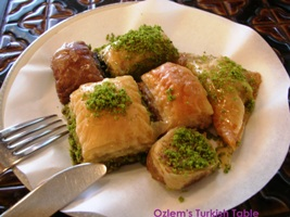 2011 Grand Turkey tour- Baklava, with OTT